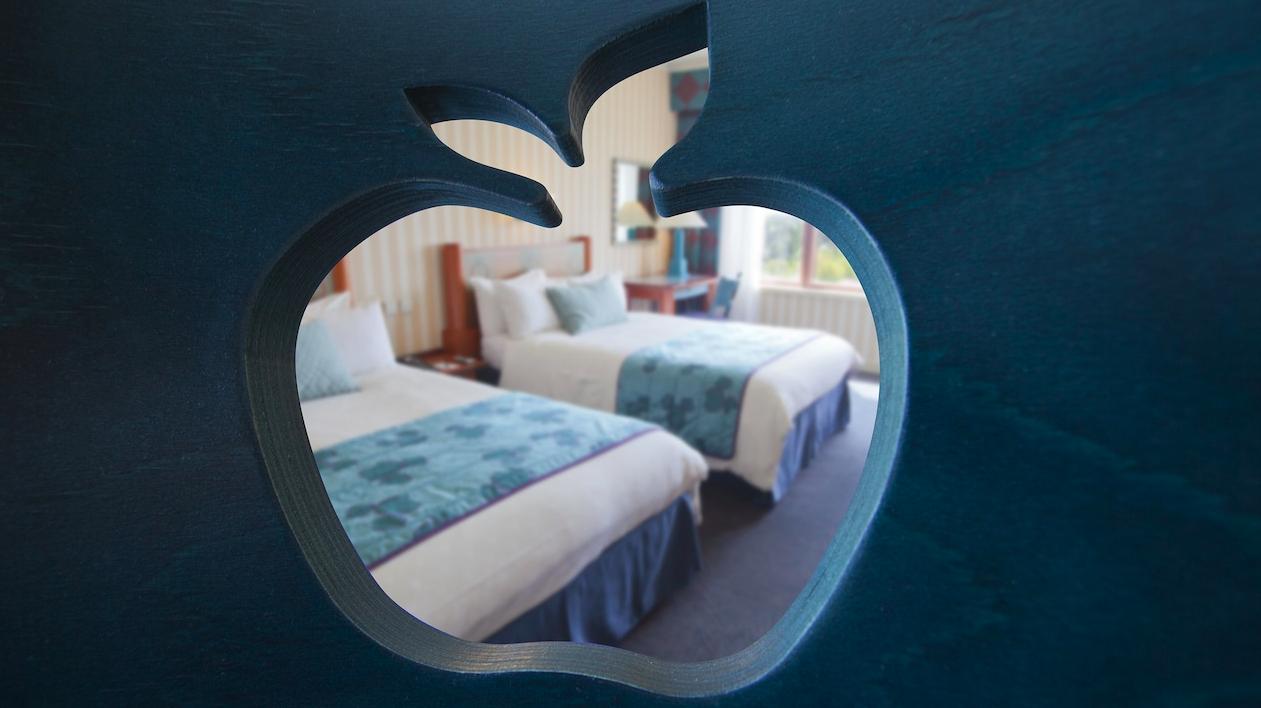 Chambre Sur Le Thème De New York le disney's hotel new york |