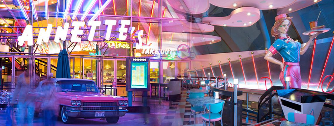 Annette S Diner Restaurant Disneyland Paris Menu