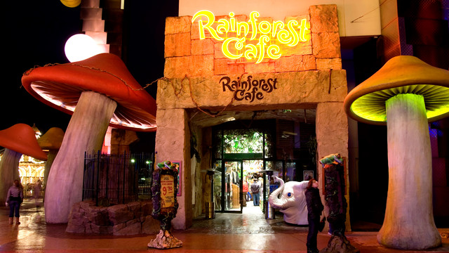le rainforest caf au disney village menu du rainforest caf au disney village disney. Black Bedroom Furniture Sets. Home Design Ideas
