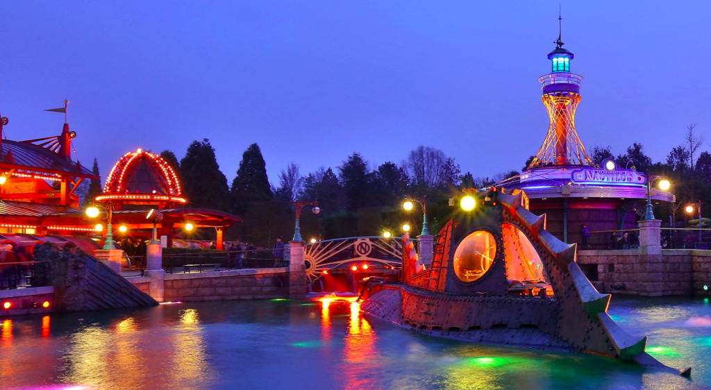 Les Mystères du Nautilus – Discoveryland – Parc Disneyland - Discoveryland  - Wish2Dream